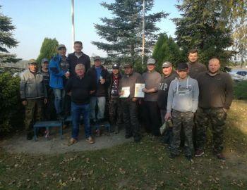 Towarzyskie Zawody Spinningowe - Zegrze 07.10.2018